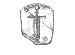 St Declan's symbol.